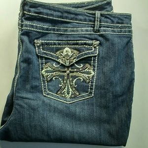 Plus size jeans shorts size 24W